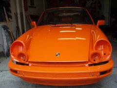 Porsche Carrera (Orange)